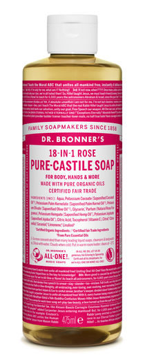 DR. BRONNER'S 18-IN-1 NESTESAIPPUA - RUUSU 475ML