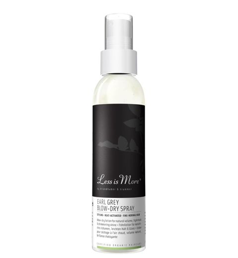 Less is More Earl Grey Blow-dry spray - kampausneste 150 ml