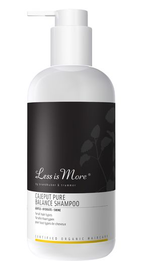 New! LESS IS MORE CAJEPUT PURE BALANCE - TASAPAINOTTAVA SHAMPOO 500 ML