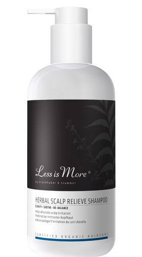 New! LESS IS MORE HERBAL (ENT. NEEM) SCALP RELIEVE - RAUHOITTAVA SHAMPOO 500 ML