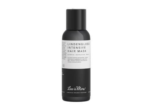 LESS IS MORE LINDENGLOSS INTENSIVE HAIR MASK - KORJAAVA HIUSNAAMIO MATKAKOKO 50 ML