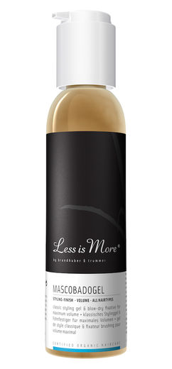Less is More Mascobadogel - hiusgeeli 150 ml