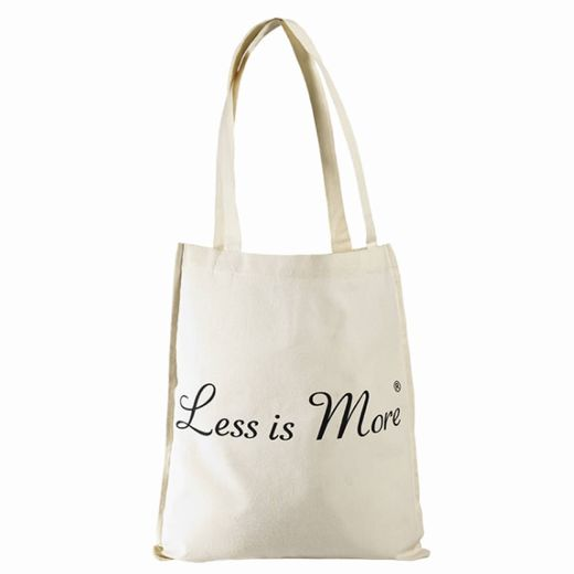 LESS IS MORE CHARITY BAG
