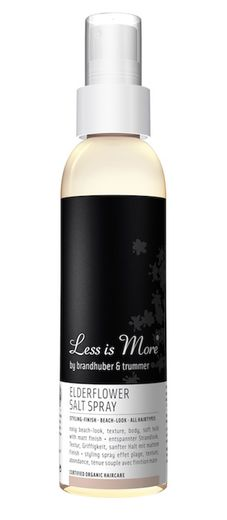 Less is More Elderflower Salt Spray - suolasuihke 150 ml