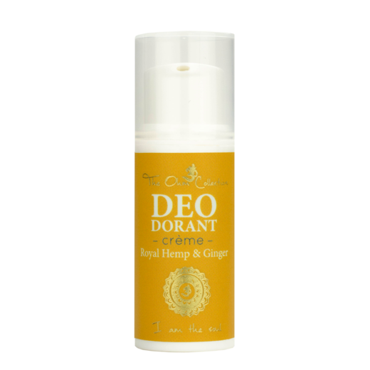 THE OHM COLLECTION CREME DEO DORANT - HEMP & GINGER MATKAKOKO 5ML