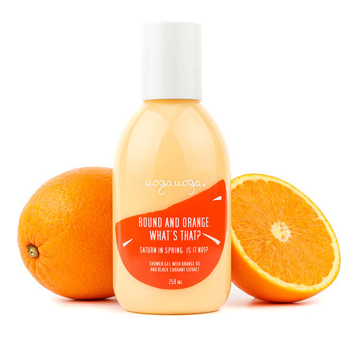 "UOGA UOGA FRESH COSMETICS - SUIHKUGEELI ""ROUND AND ORANGE"" 250ML"